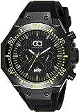 Gio Collection Analog Black Dial Men's Watch - AD-0051-E