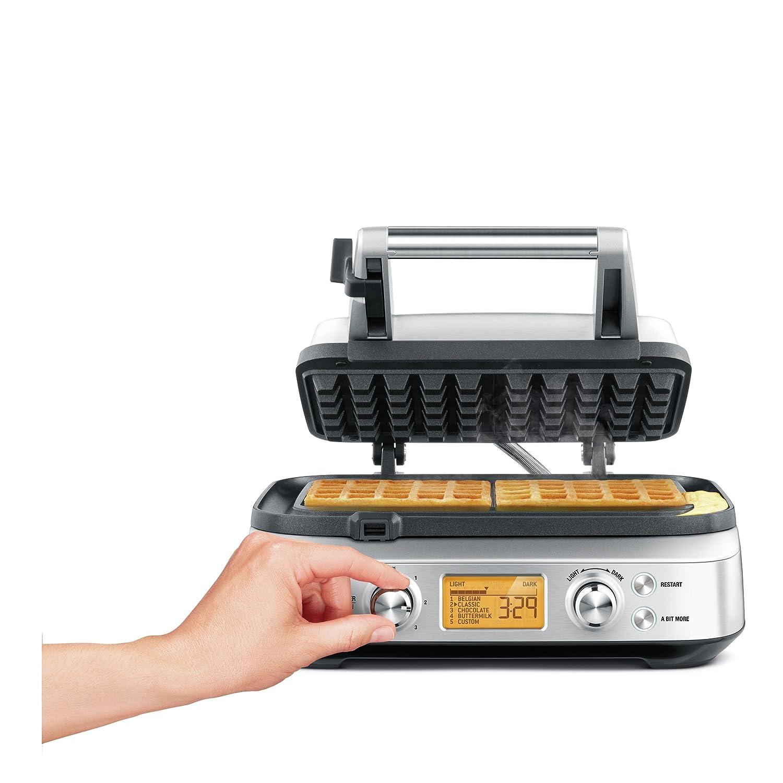Sage BWM620UK the Smart Waffle Maker - Silver BRG Appliances