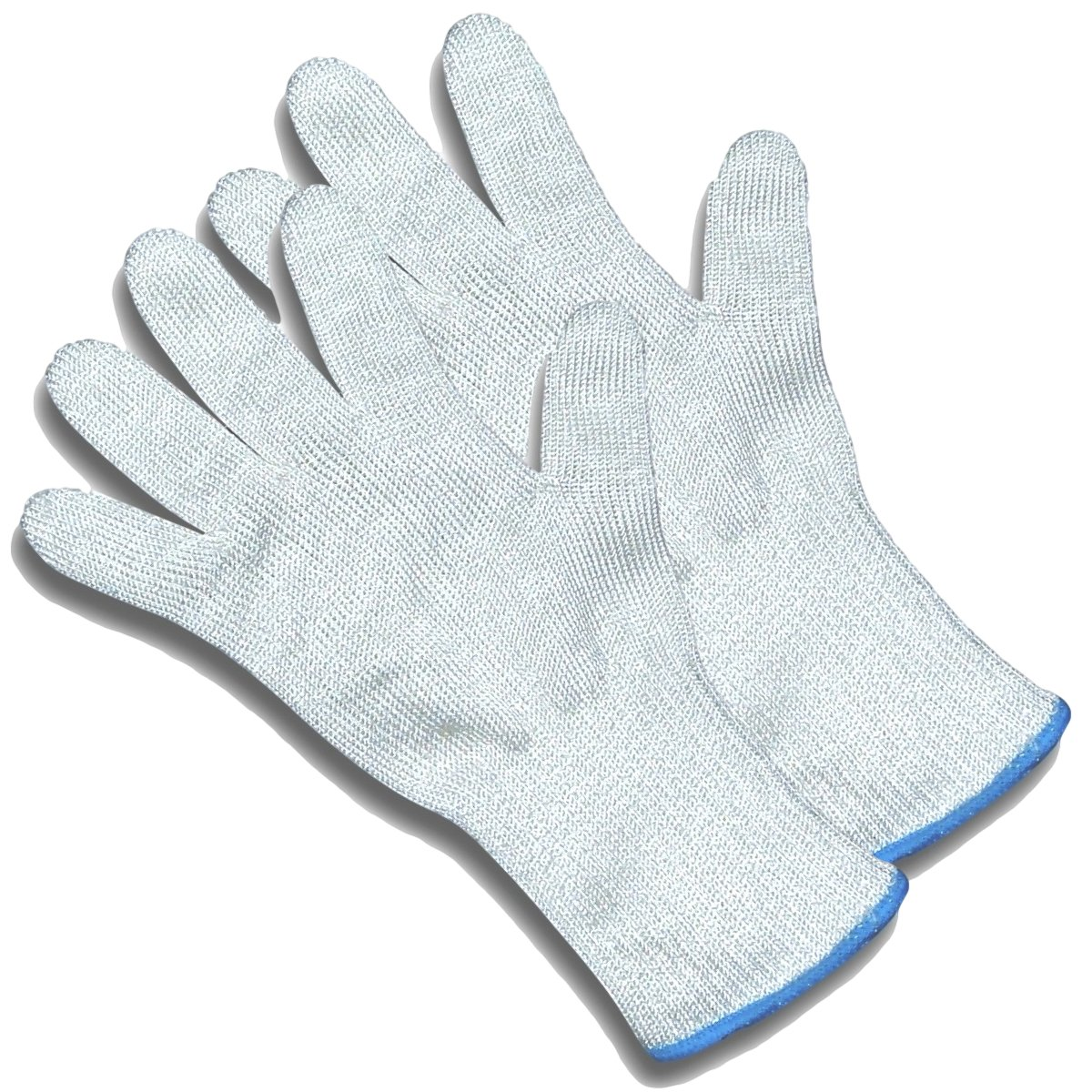 ChefsGrade Cut Resistant Safety Gloves - Protection From Knives, Mandoline and Graters - Soft Flexible with Stainless Steel Wire - Two Gloves