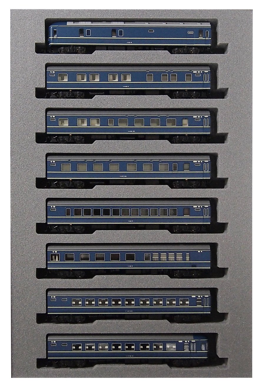 KATO Nゲージ 20系 寝台特急あさかぜ 基本 8両セット 10-1321 鉄道模型 客車 B0154MCUK6