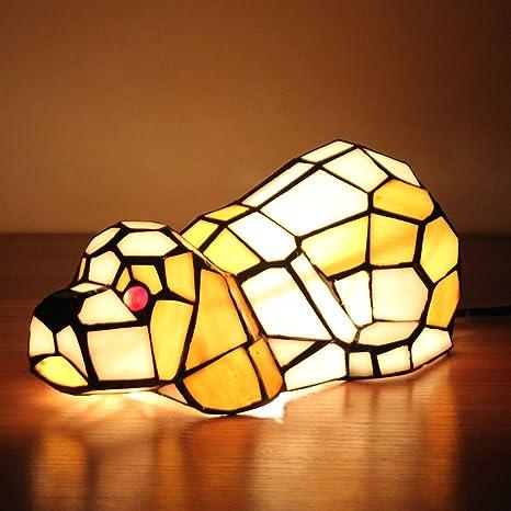 Gweat Europea Creativa Shar Pei Perro lámpara de Mesa de la ...
