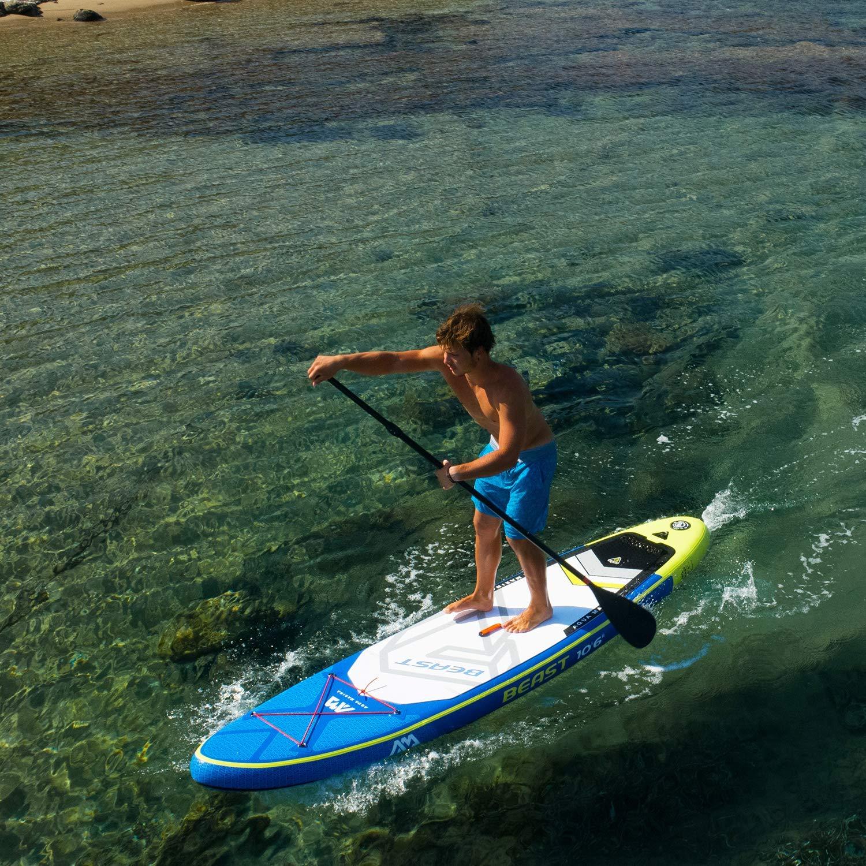 Amazon.com : Aqua Marina Beast Inflatable Stand Up Paddle Board 106