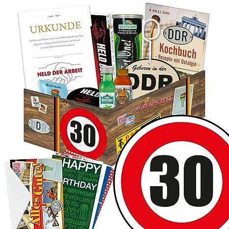 Schön MÄNNER Geschenkideen Zum 30. Geburtstag   Männer Box Mit Waren DDR +  Geschenkverpackung U0026quot;