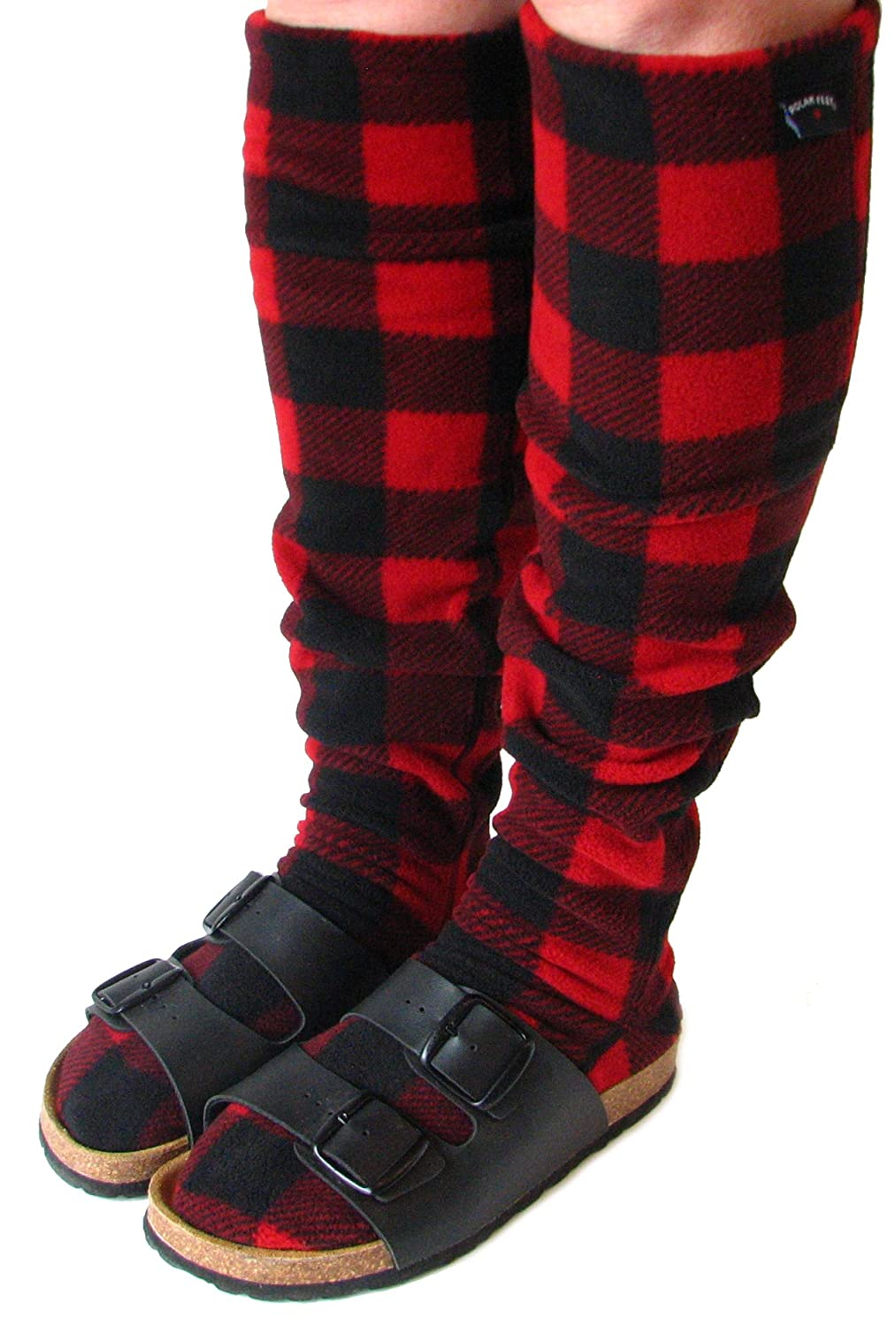 POLAR FEET Knee-High Fleece Socks - Regular Calf