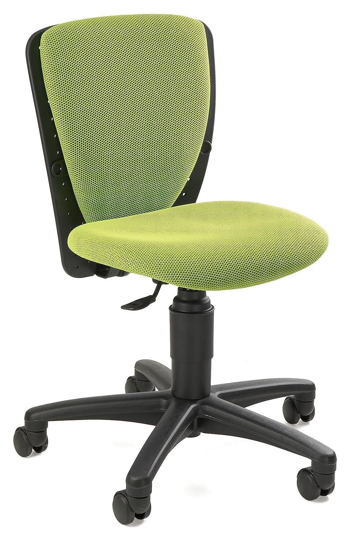 Schreibtischstuhl kinder test  Topstar 70570BB50 Kinder-Drehstuhl, High S'cool Bezugsstoff grün ...