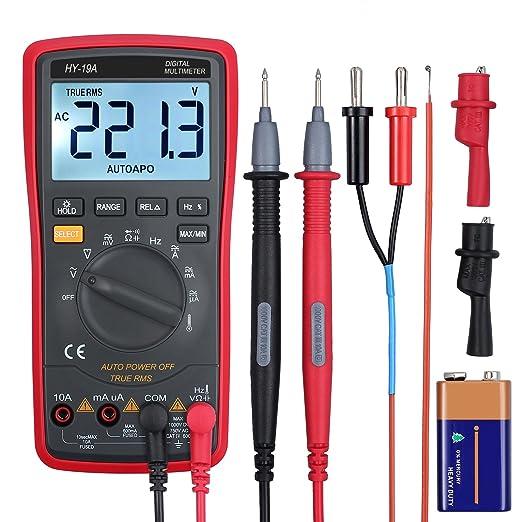 2 opinioni per LiNKFOR Multimetro Digitale 6000 Counts TRMS Multimetro Automatico Manuale