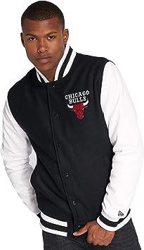 New Era Homme Manteaux & VestesTeddy NBA Contrast Chicago Bulls