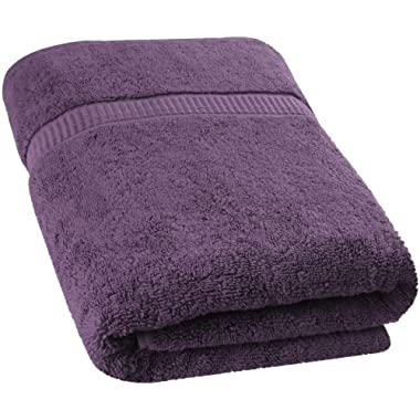 Utopia Towels Extra Large Bath Towel(35 x 70 Inches) - Luxury Bath Sheet - Plum