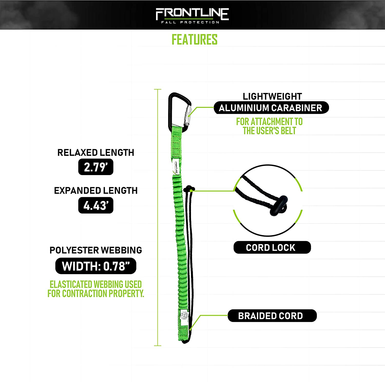 Frontline ACTLS22 ToolGrip 22 lbs Rated Tool Lanyard