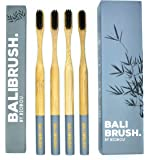 Premium Bamboo Toothbrushes with Charcoal Bristles - BALIBRUSH