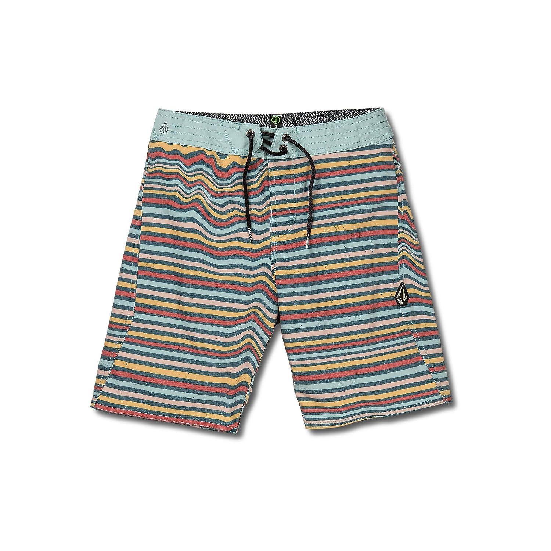 Volcom Big Boys Aura Stripe 17 Stretchy Boardshort