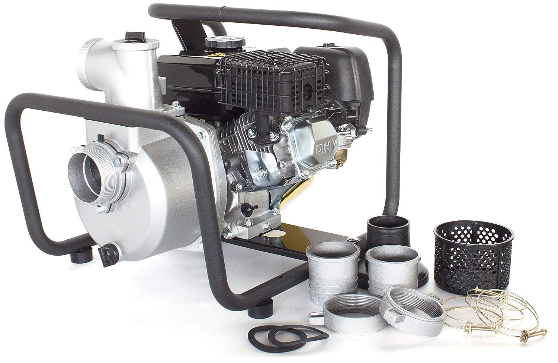 /& Tragbare Benzin Reinwasserpumpe mit 60 000 l//h F/örderleistung ✦ 30m Wasserhub ✦ 3600 U//min Viertakt-Benzinmotor und enthaltenem Zubeh/ör WP30-B ☀ Briggs /& Stratton ☀ Hochleistungs von WASPPER