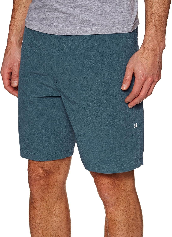 Hurley - M Alpha Plus Trainer 2.0 18.5', Bermuda Shorts Hombre, Hombre, 895072, Obsidian, S