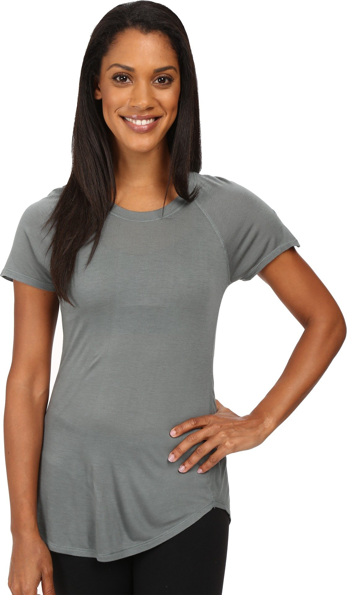 The North Face Women's Initiative Short Sleeve Balsam Green (Prior Season) Small