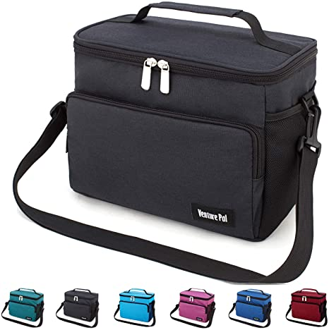 Lunch Bag,TADAMI Durable Insulated Water-Resistant Cooler /& Thermal Lunch Box for Work,School,Beach,Picnic,Camping C
