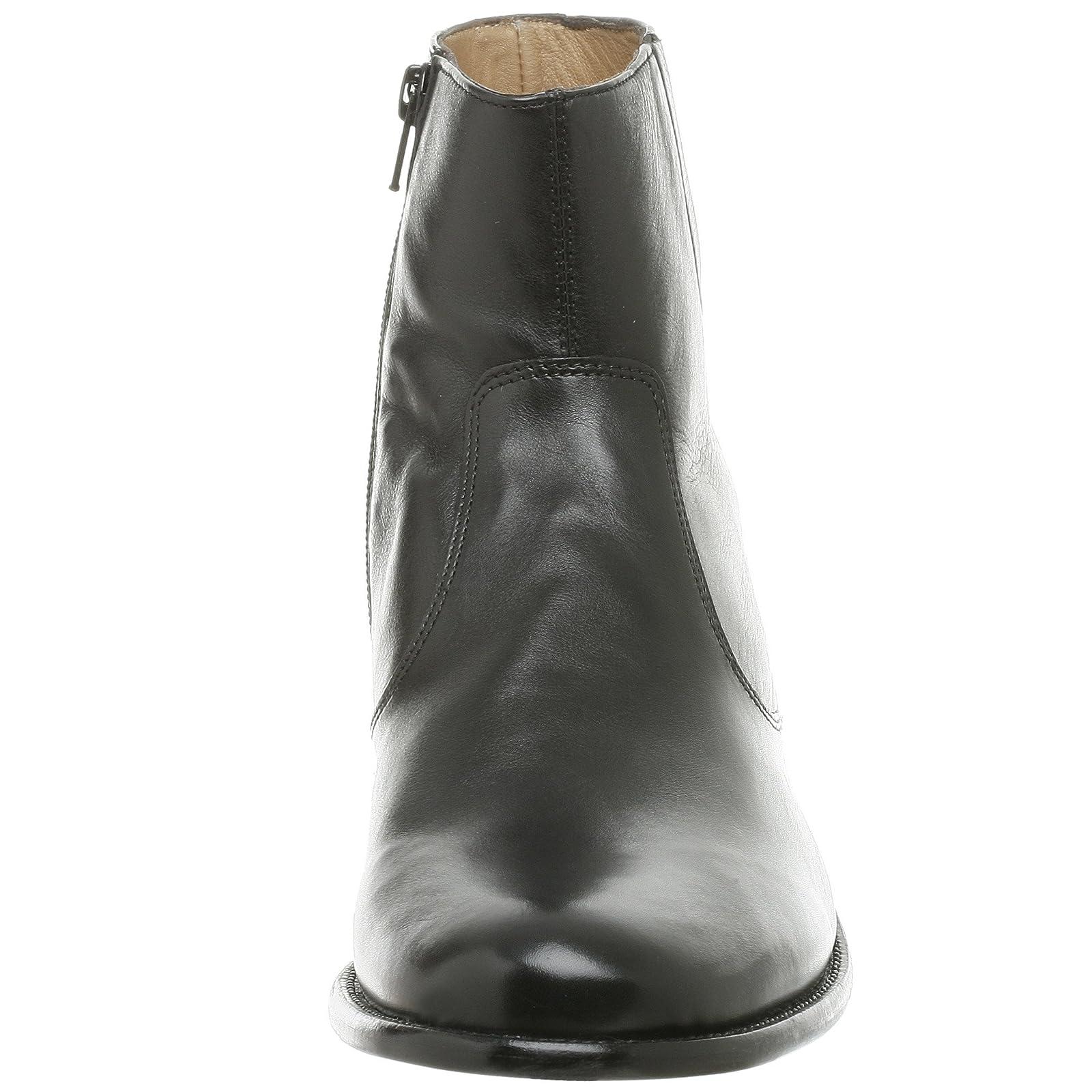 Florsheim Men's Hugo Boot 18570 Black Milled Leather - 4
