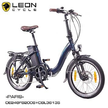 NCM Paris 20 pulgadas bicicleta eléctrica S de bicicleta plegable E-Bike aluminio 36 V