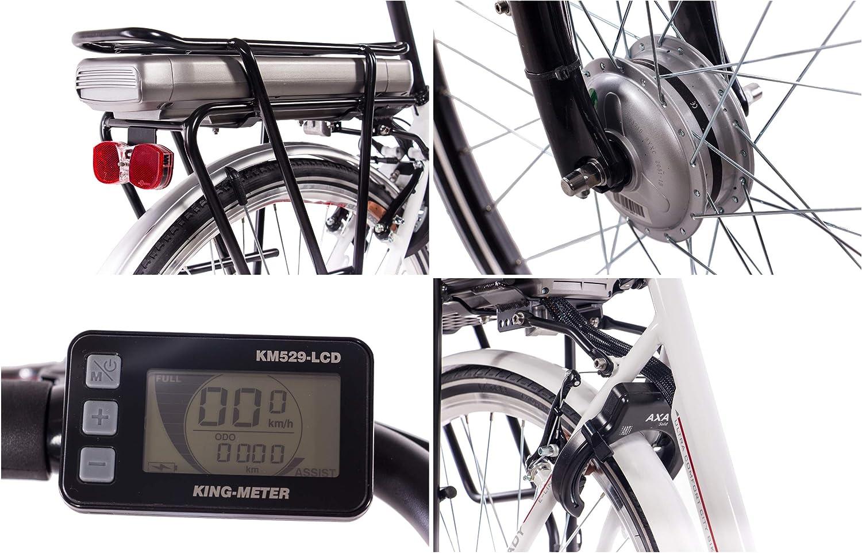 CHRISSON 28 pulgadas City Cilindro de aluminio bicicleta E-Bike ...