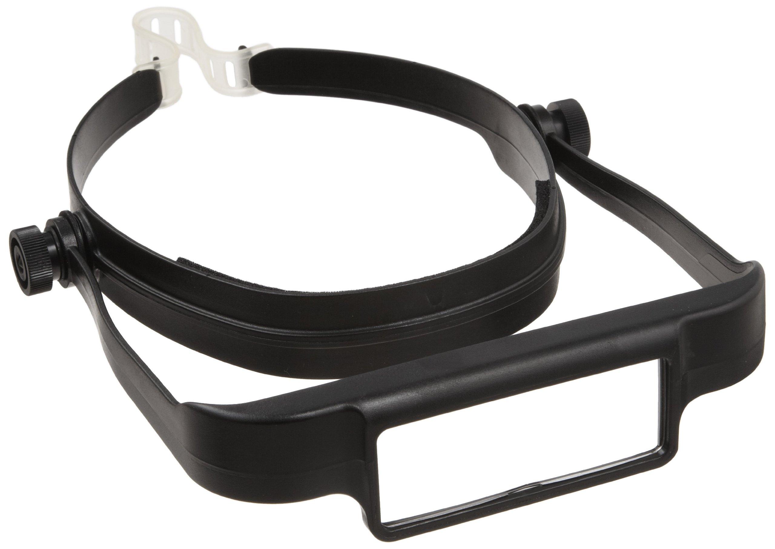 Donegan OSC OptiSIGHT Binocular Magnifying Visor, Black