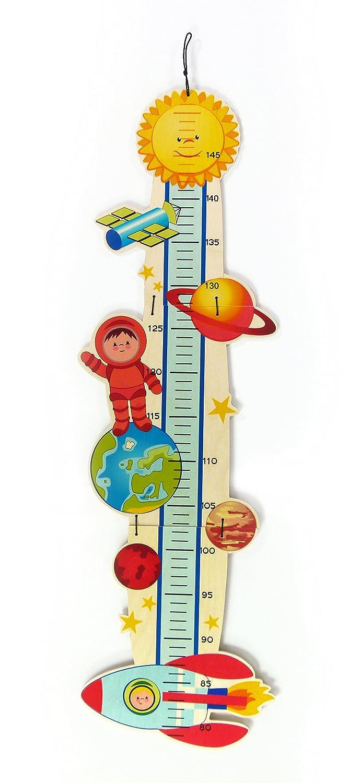 Hess Holzspielzeug Messlatte Weltall 50135