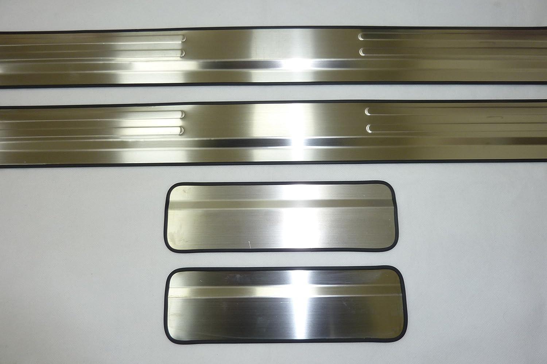 Ford Focus (2005 - 2011) Chrome travesaño de la puerta Cubiertas Protectores x 4: Amazon.es: Coche y moto