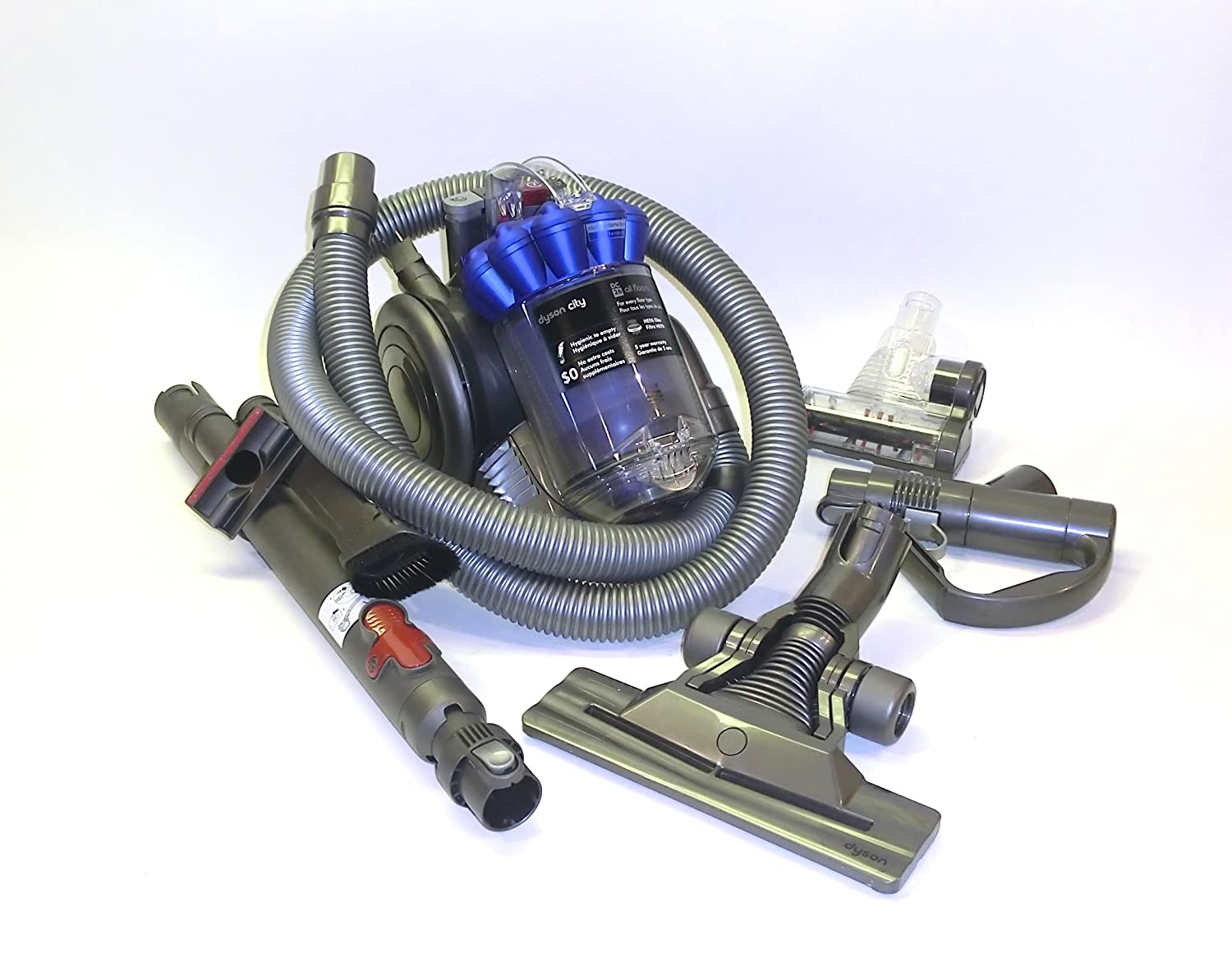Amazon.com - Dyson DC26 Multi floor compact canister vacuum cleaner -  Refurbished - Household Canister Vacuums