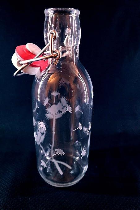 freiglas 0,5L Botella de cristal * * Diente 100% Sin ...