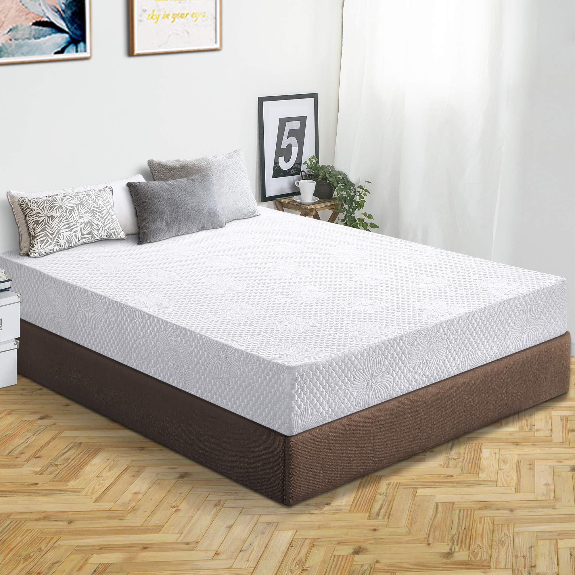 Olee Sleep 6 Inch Ventilated Multi Layered Memory Foam Mattress 06FM01F