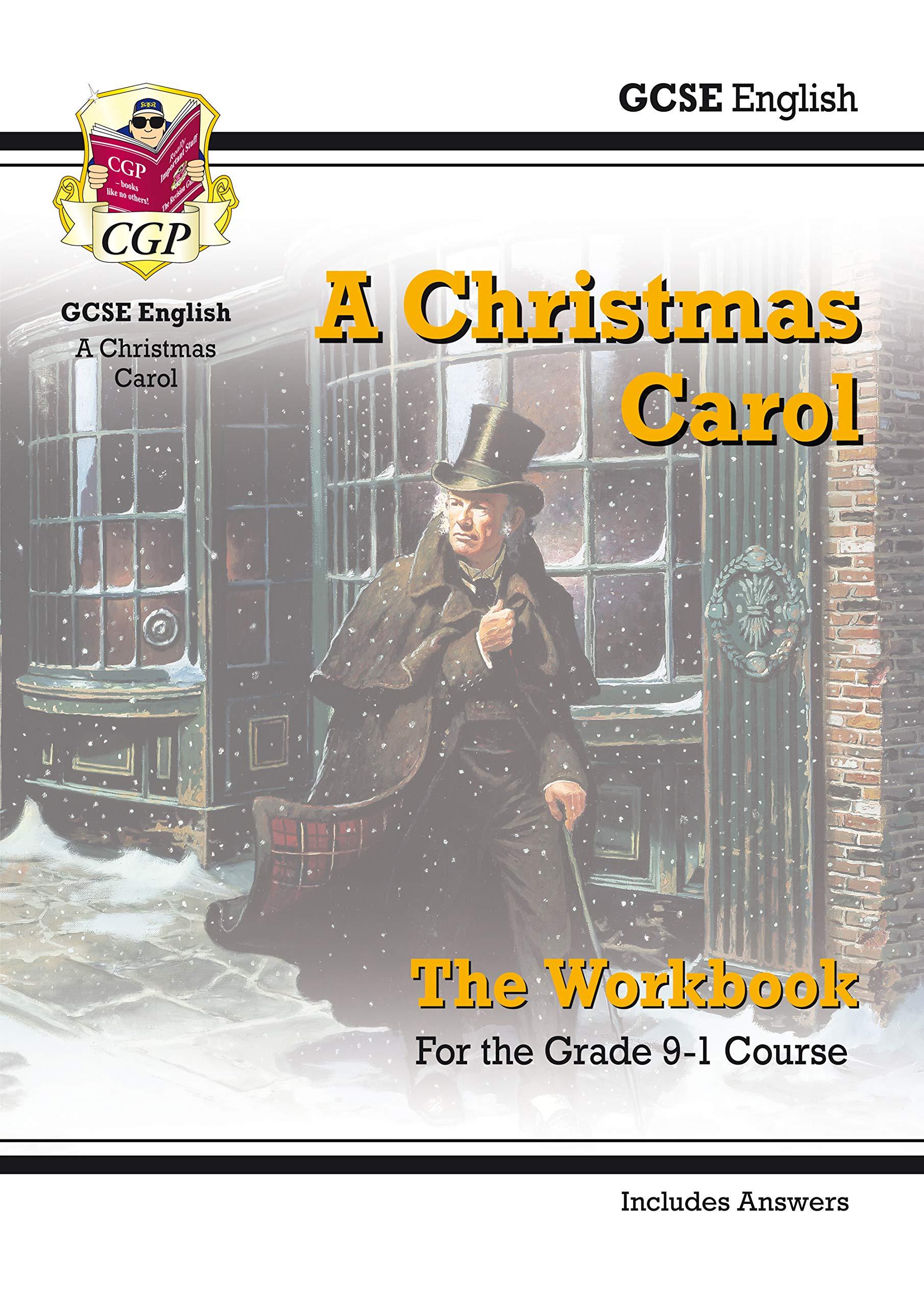 New Grade 9 1 GCSE English   A Christmas Carol Workbook  Includes Answers