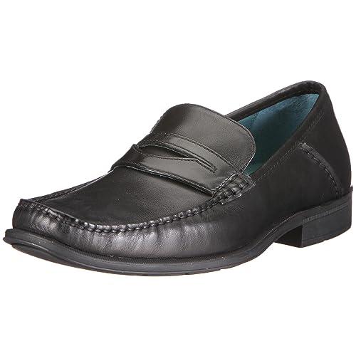 Sebago Sussex Classic - Mocasines de cuero para hombre, color negro, talla 44.5: Amazon.es: Zapatos y complementos