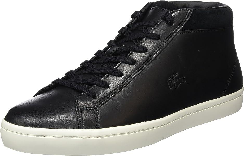 5b735e5118 Lacoste STRAIGHTSET CHUKKA 316 2, Sneakers homme - Noir - Schwarz (Blk  024), 42.5 EU: Amazon.fr: Chaussures et Sacs