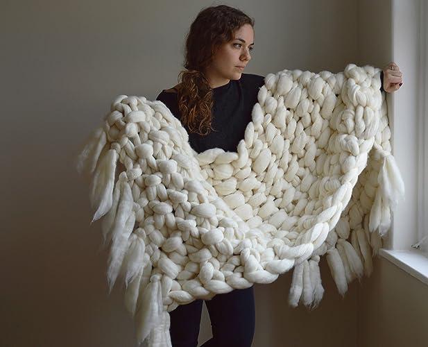 Merino Wool Blanket Throws