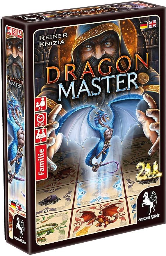 Pegasus Spiele Dragon Master Estrategia Niños y Adultos - Juego de Tablero (Estrategia, Niños y Adultos, 5 min, 20 min, Niño/niña, 8 año(s)): Amazon.es: Juguetes y juegos