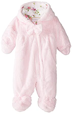 10979bd61311 Amazon.com  Rothschild Baby-Girls Infant Teddy Plush Pram