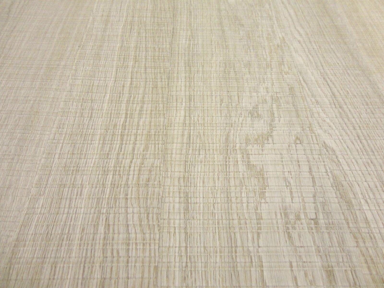 Rough Sawn White Oak wood veneer sheet 48'' x 96'' with paper backer 1/40th'' thick