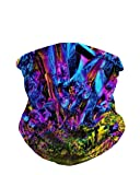 iHeartRaves Cave Crystals Multi-Functional Seamless Face Mask Bandana