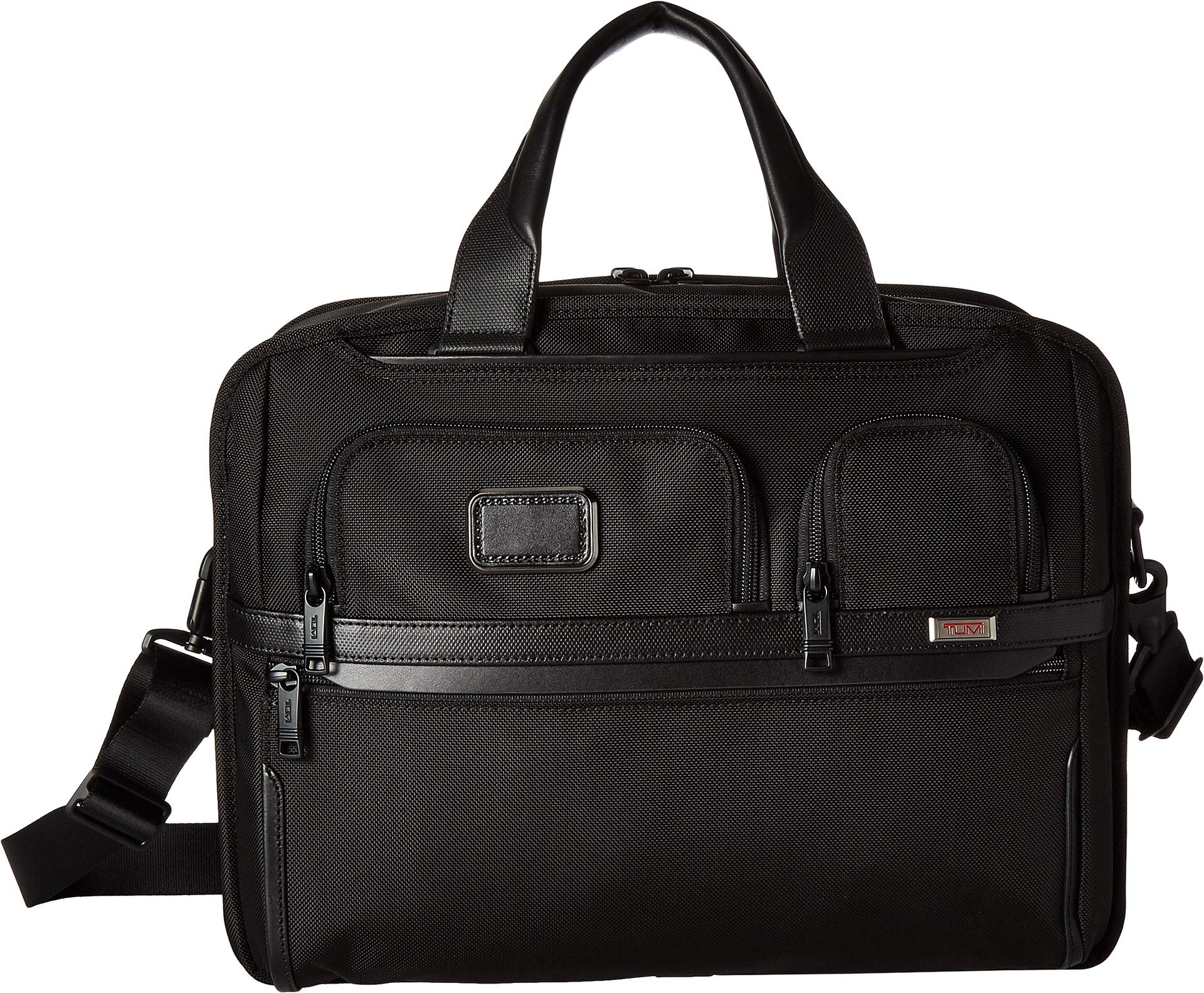 Tumi Unisex Alpha 3 T-Pass¿ Expandable Laptop Brief Black One Size by TUMI