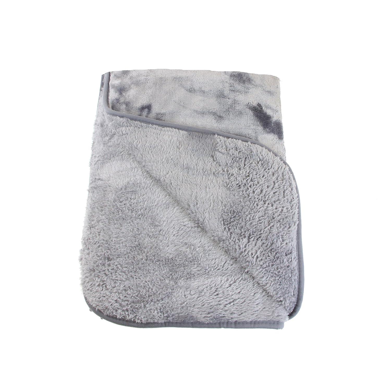 Gözze cuddly 毛布、カシミア風、ポリエステル、チャコール、180 x 220 cm B00A7INE2G