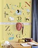 RoomMates ウォールステッカー Animal Alphabet アニマル アルファベット RMK1440SCS