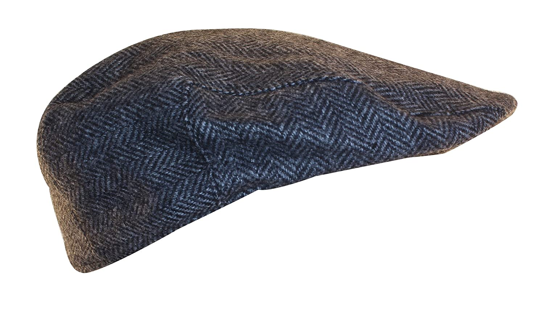 5e27ab2823e13 Shandon 100% Wool Irish Flat Cap Gray Herringbone at Amazon Men s Clothing  store