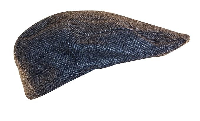 Shandon 100% Wool Irish Flat Cap Gray Herringbone (Medium) at Amazon ... 9d4654fd4af