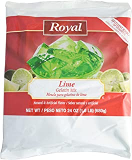 product image for Royal Gelatin, 24 Ounce (lime, 12-pack)