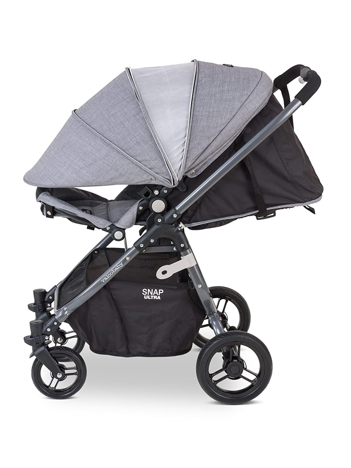 Valco Baby Snap Ultra Lightweight Reversible Stroller Grey Marle
