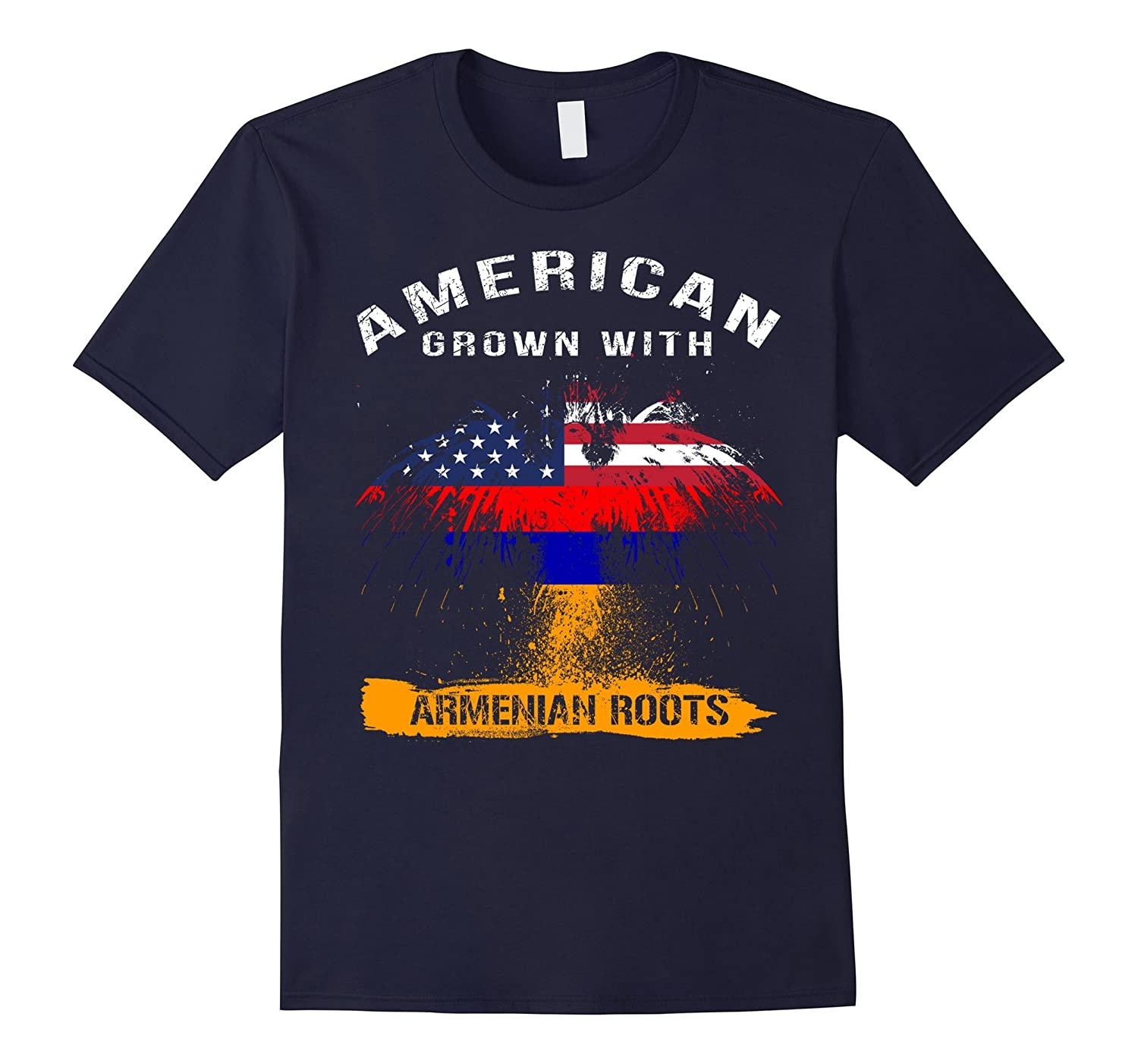 American grown with Armenian Roots gifts tshirt-TH
