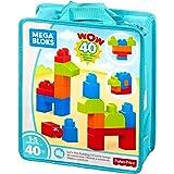 Sacola 40 Peças Mega Bloks, Mattel, Verde