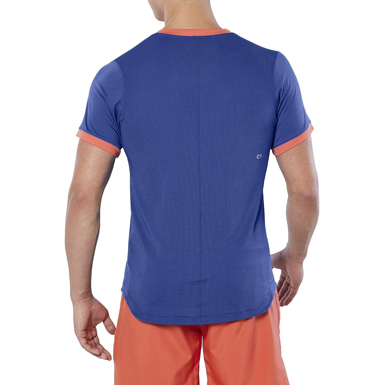 ASICS Club Manga Corta T-Shirt - SS19: Amazon.es: Deportes y aire ...
