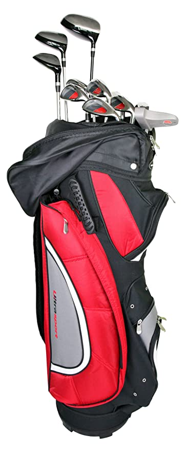 Ultrasport Kit Completo de Golf¡V 11 palos, incluye bolsa ...