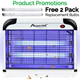 Aspectek Powerful 20W Electronic Indoor Insect Killer, Bug Zapper, Fly Zapper, Mosquito Killer.