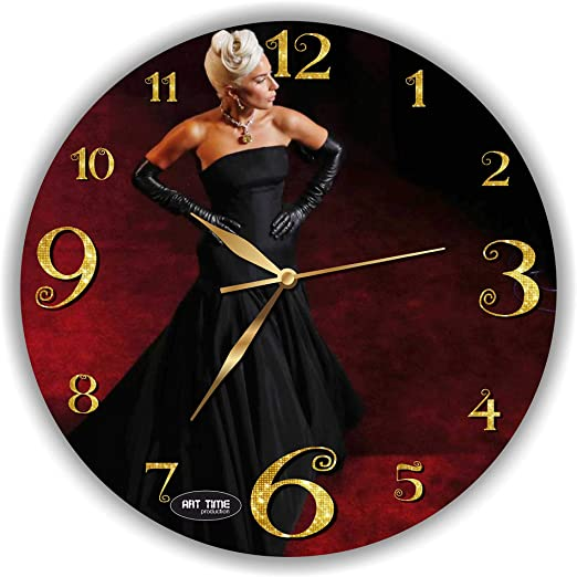 LADY GAGA FRAMED CD ART CLOCK//Exclusive Design Born This Way