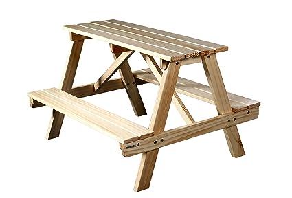 SixBros. Mesa para Niños de Picnic Conjunto de Muebles para Jardín ...